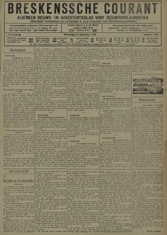 Breskensche Courant 1929-09-25