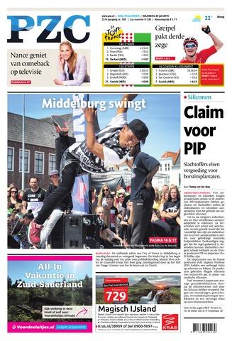 Provinciale Zeeuwse Courant 2015-07-20
