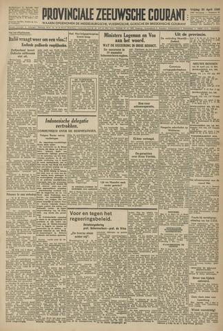 Provinciale Zeeuwse Courant 1946-04-26