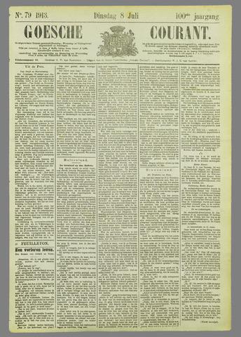 Goessche Courant 1913-07-08