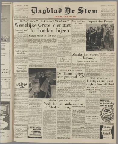 de Stem 1961-10-16