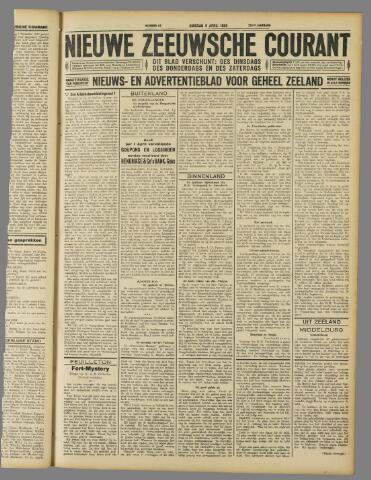 Nieuwe Zeeuwsche Courant 1929-04-09