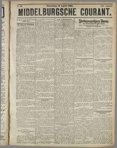 Middelburgsche Courant 1921-04-16