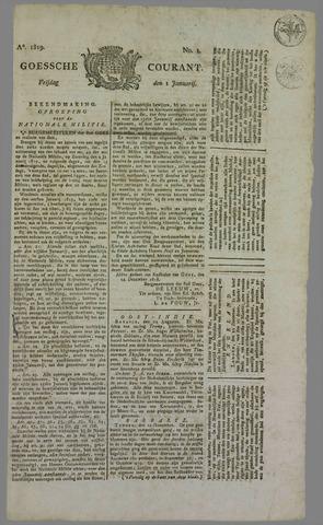 Goessche Courant 1819