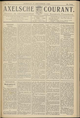 Axelsche Courant 1929-12-17
