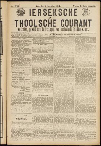 Ierseksche en Thoolsche Courant 1917-12-01