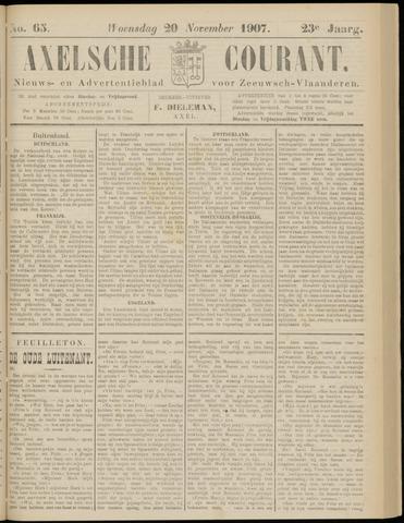 Axelsche Courant 1907-11-20