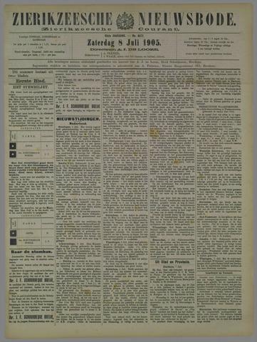 Zierikzeesche Nieuwsbode 1905-07-08