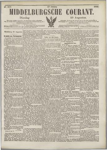 Middelburgsche Courant 1899-08-29