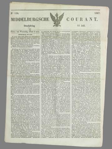 Middelburgsche Courant 1867-07-11