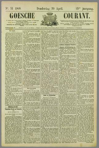 Goessche Courant 1908-04-30