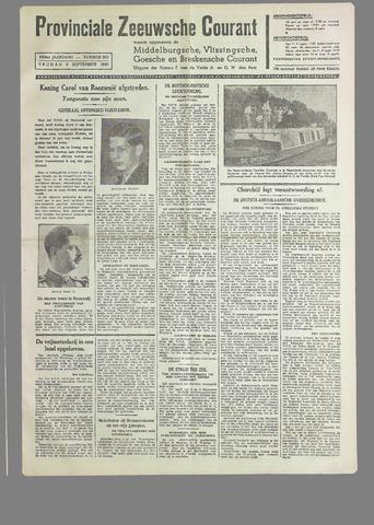 Provinciale Zeeuwse Courant 1940-09-06