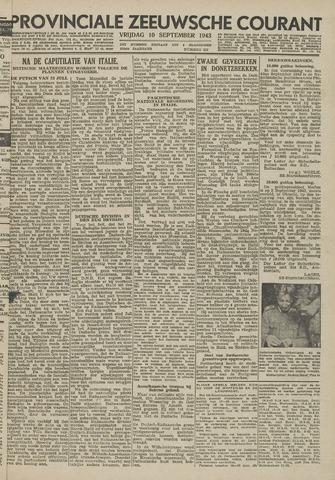 Provinciale Zeeuwse Courant 1943-09-10