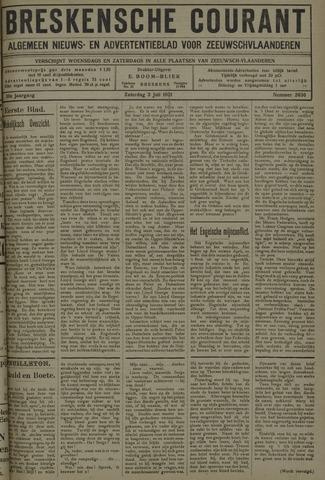 Breskensche Courant 1921-06-29