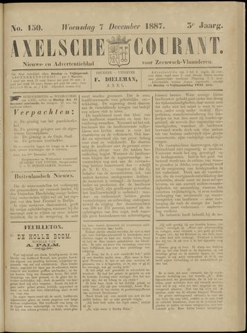 Axelsche Courant 1887-12-07