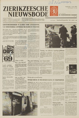 Zierikzeesche Nieuwsbode 1973-06-07