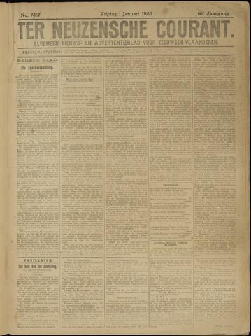 Ter Neuzensche Courant. Algemeen Nieuws- en Advertentieblad voor Zeeuwsch-Vlaanderen / Neuzensche Courant ... (idem) / (Algemeen) nieuws en advertentieblad voor Zeeuwsch-Vlaanderen 1926-01-01
