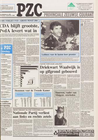 Provinciale Zeeuwse Courant 1989-09-07