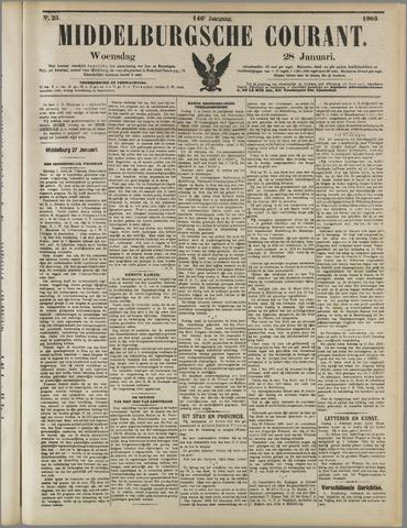 Middelburgsche Courant 1903-01-28