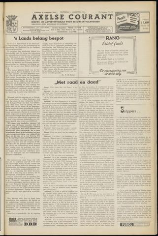 Axelsche Courant 1953-08-01