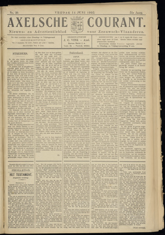 Axelsche Courant 1935-06-14