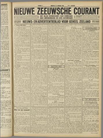 Nieuwe Zeeuwsche Courant 1931-01-27