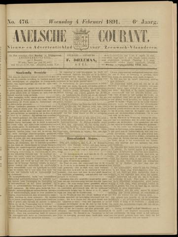 Axelsche Courant 1891-02-04