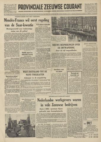 Provinciale Zeeuwse Courant 1954-10-23