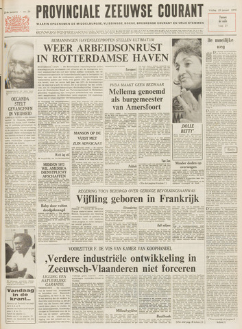Provinciale Zeeuwse Courant 1971-01-29