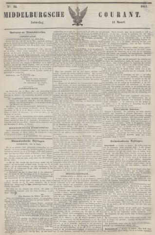 Middelburgsche Courant 1851-03-15