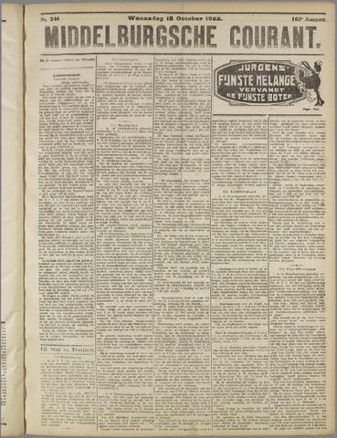 Middelburgsche Courant 1922-10-18
