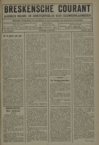 Breskensche Courant 1919-05-07