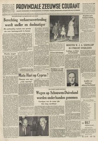 Provinciale Zeeuwse Courant 1956-07-19