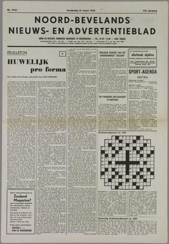 Noord-Bevelands Nieuws- en advertentieblad 1983-03-31