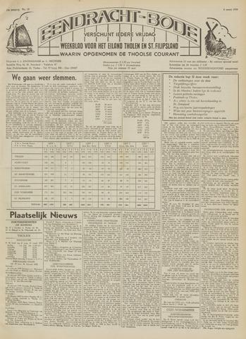 Eendrachtbode (1945-heden)/Mededeelingenblad voor het eiland Tholen (1944/45) 1959-03-06