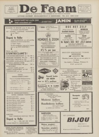 de Faam en de Faam/de Vlissinger 1967-12-29