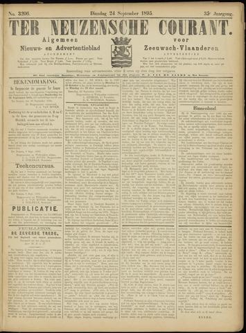 Ter Neuzensche Courant. Algemeen Nieuws- en Advertentieblad voor Zeeuwsch-Vlaanderen / Neuzensche Courant ... (idem) / (Algemeen) nieuws en advertentieblad voor Zeeuwsch-Vlaanderen 1895-09-24
