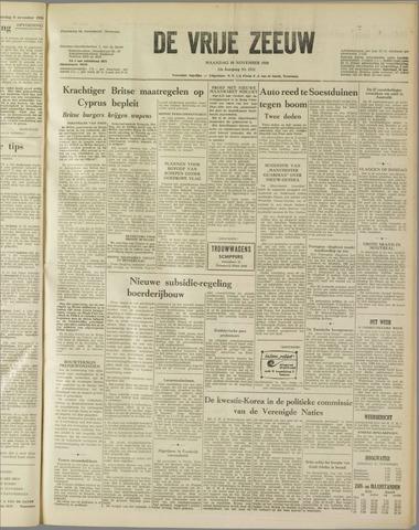 de Vrije Zeeuw 1958-11-10