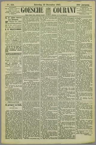 Goessche Courant 1917-12-22
