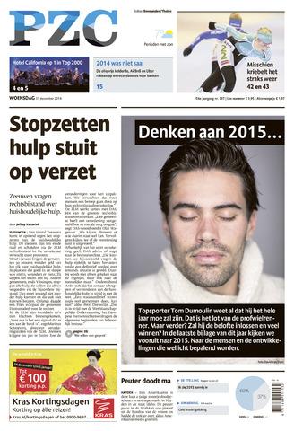 Provinciale Zeeuwse Courant 2014-12-31