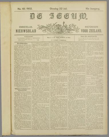 De Zeeuw. Christelijk-historisch nieuwsblad voor Zeeland 1902-07-22