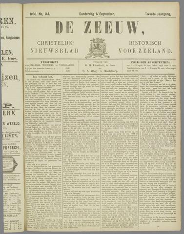 De Zeeuw. Christelijk-historisch nieuwsblad voor Zeeland 1888-09-06