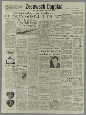 Zeeuwsch Dagblad 1958-10-25