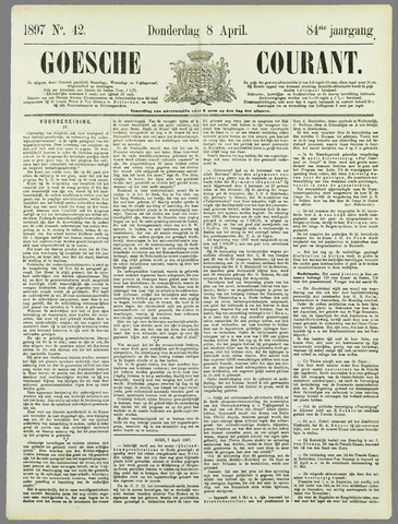 Goessche Courant 1897-04-08