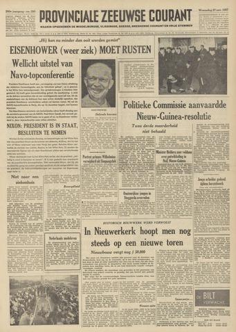 Provinciale Zeeuwse Courant 1957-11-27