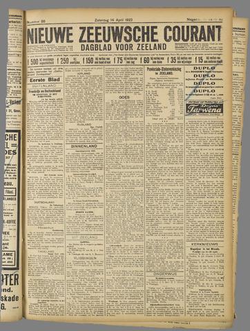 Nieuwe Zeeuwsche Courant 1923-04-14