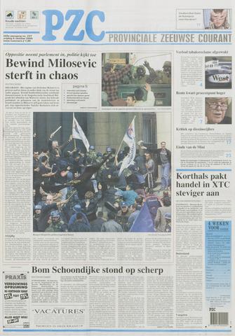 Provinciale Zeeuwse Courant 2000-10-06