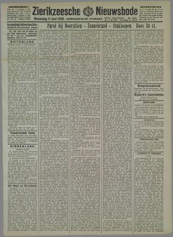 Zierikzeesche Nieuwsbode 1930-06-11