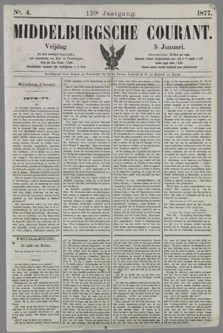 Middelburgsche Courant 1877-01-05