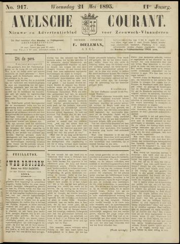 Axelsche Courant 1895-05-22